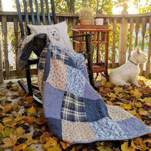 Symphony Patchwork Throw Blanket
