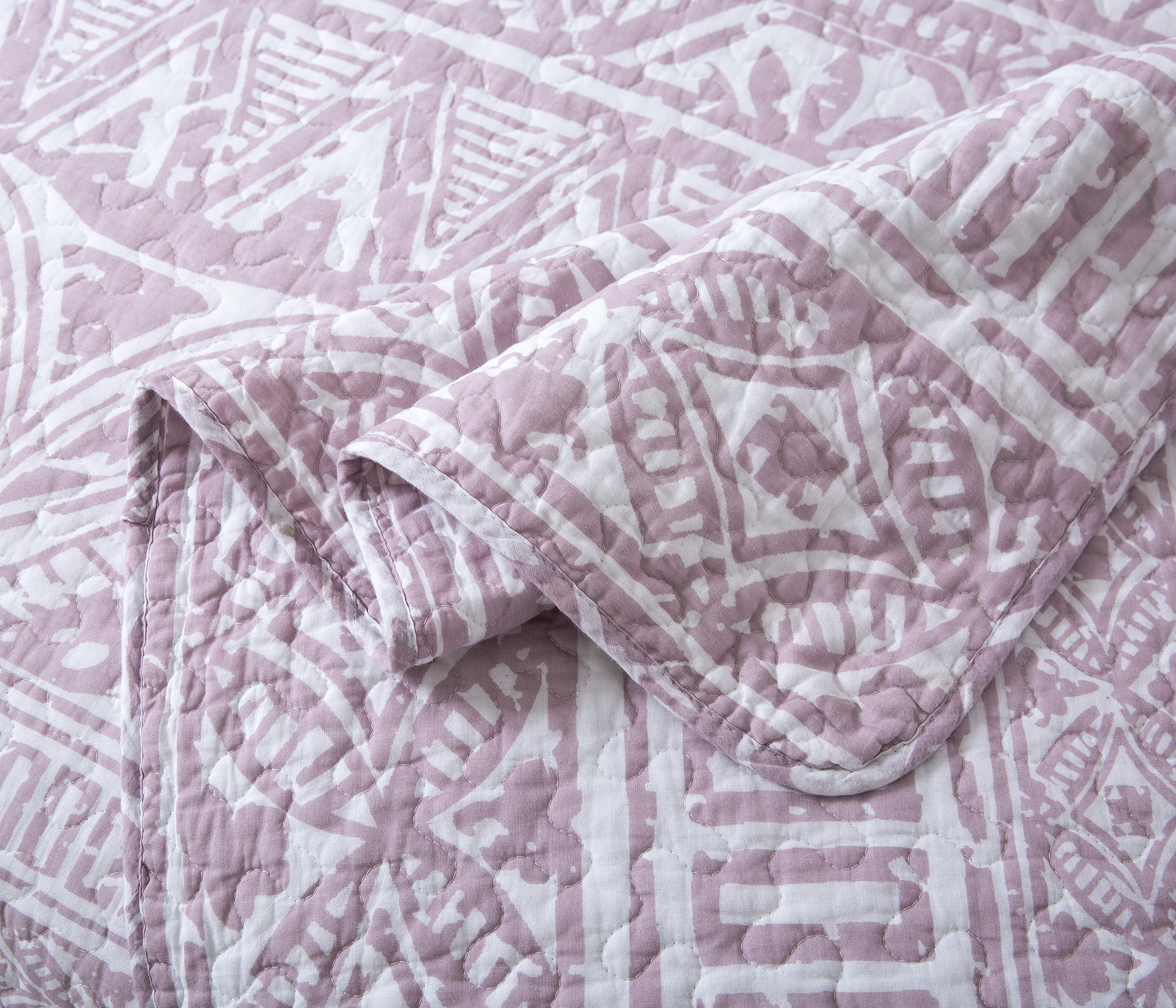 Perfect Harmony Cotton Quilt + Shams