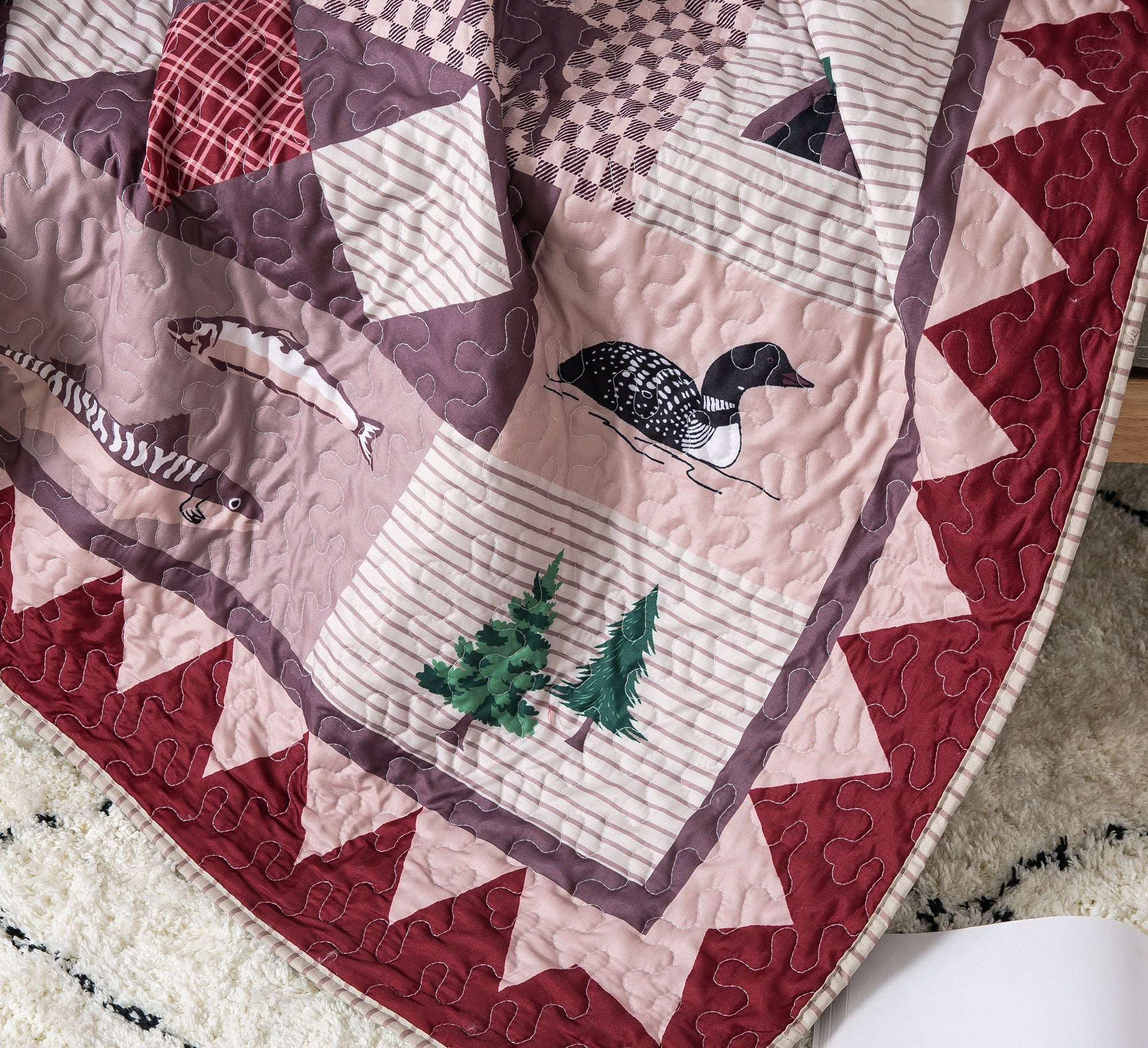 Wild Wonders Cabin Throw Blanket