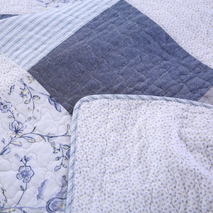 Patchwork Throw Blanket