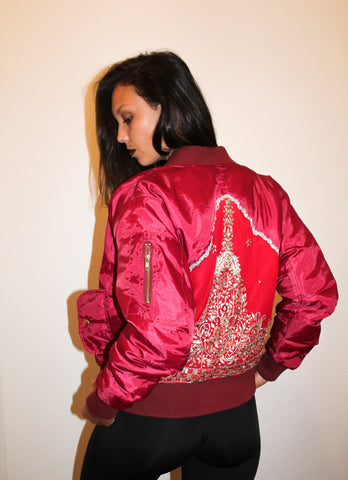 Mrs. Bomber Jacket