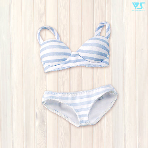 Striped Underwear Set M (Blue)