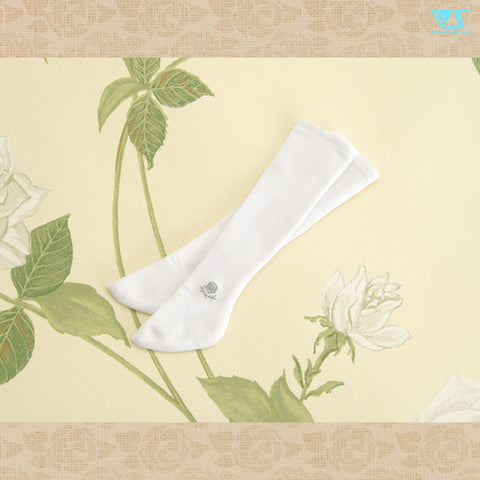 Ash Rose School Socks / Mini (White)