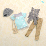 Cozy Casual Style (Mint) / Mini