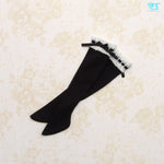 Laced Socks / Mini (Black)