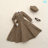 Glen Check Dress Set