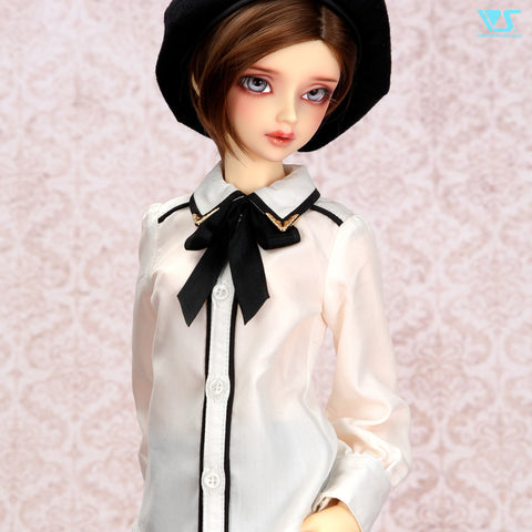 Black Ribbon Blouse / M