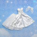 White Sugar Tiered Dress