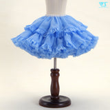Pom Pom Skirt (Pale Blue)