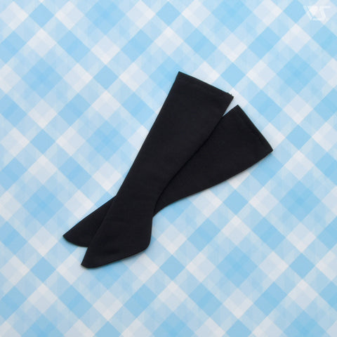 MDD Mochi-Ashi Basic Socks (Black) / Mini