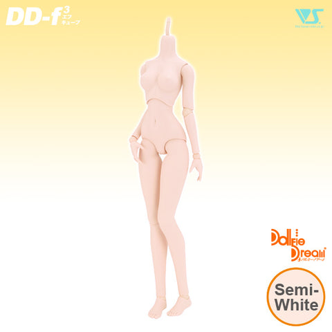 DD Base Body (DD-f3) Semi White