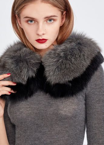 Faux Fur Collar Scarf (Limited Sale)