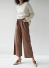 Vegan Leather Long Pants