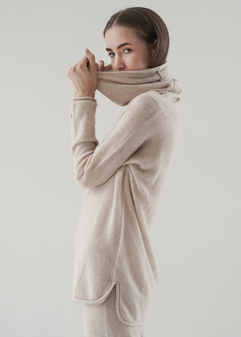 Round-Neck Cashmere Sweater