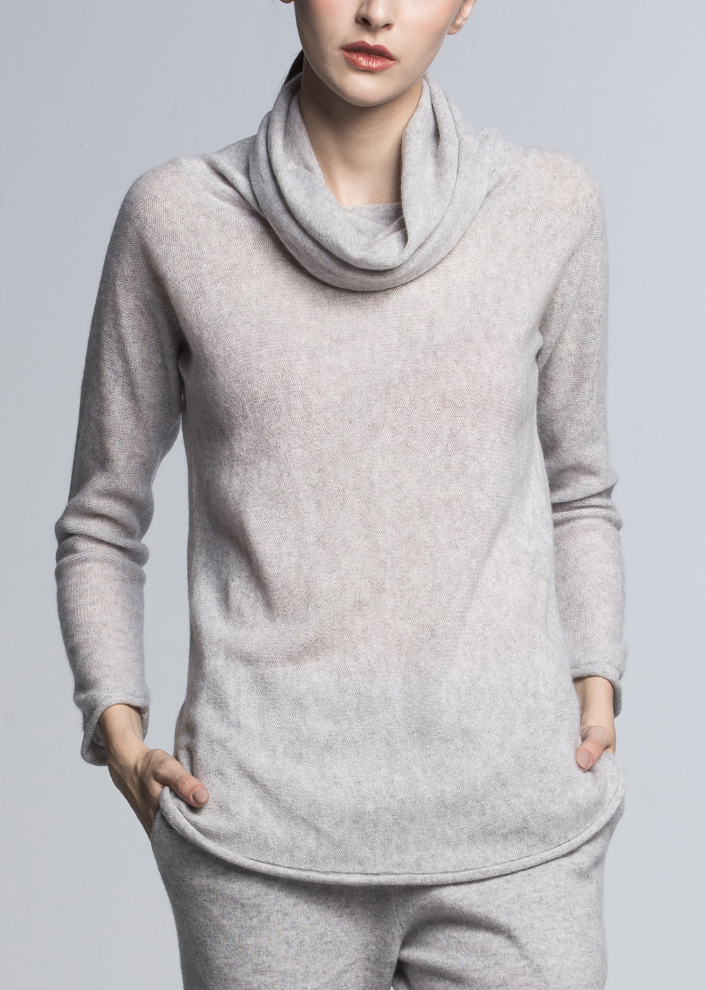 Turtleneck Cashmere Top