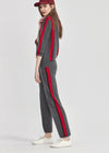 Cashmere Striped Sweatpants