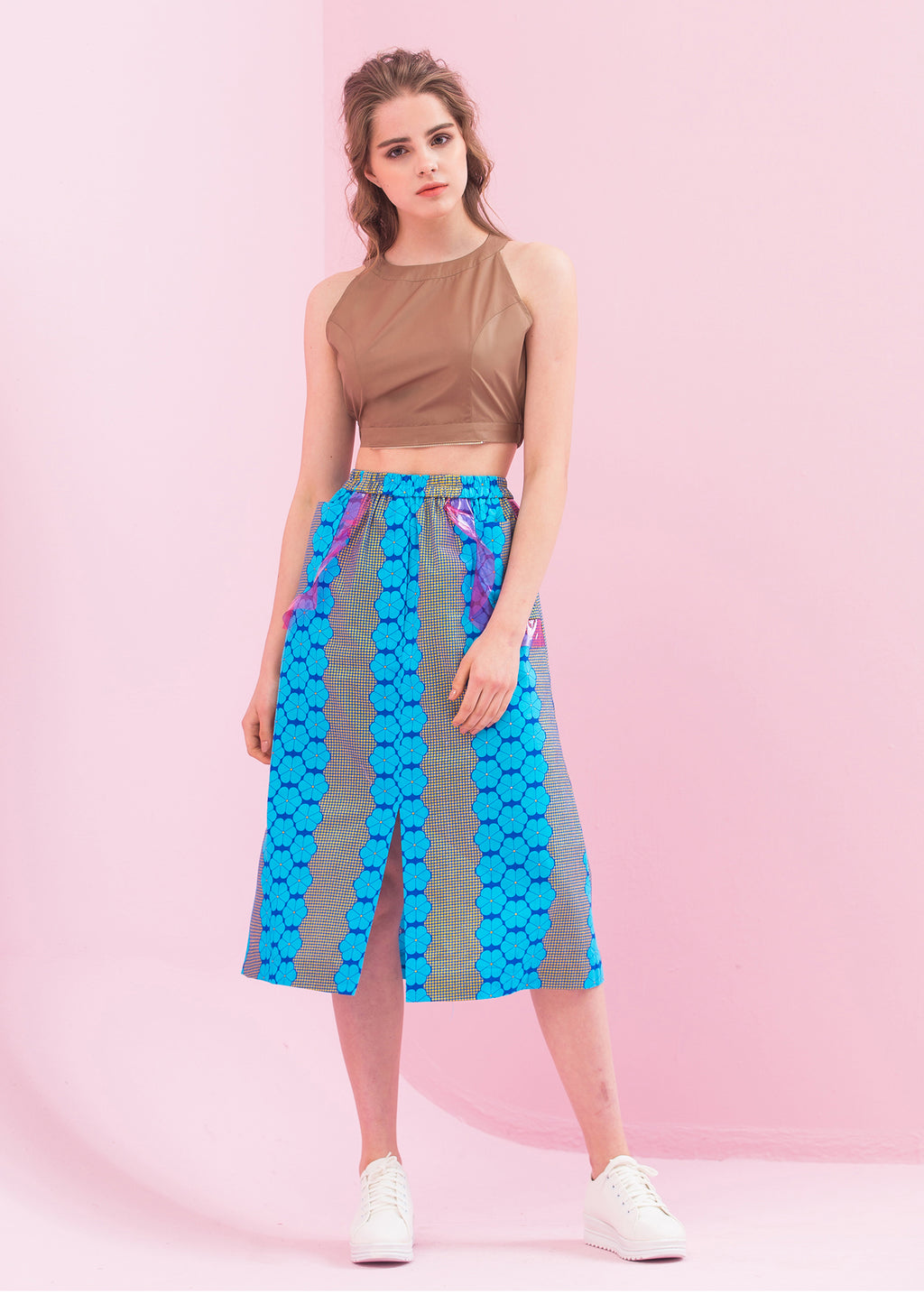 Lace pattern Skirt
