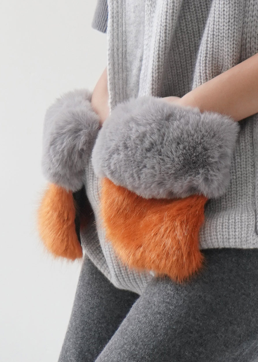 Faux Fur Clips