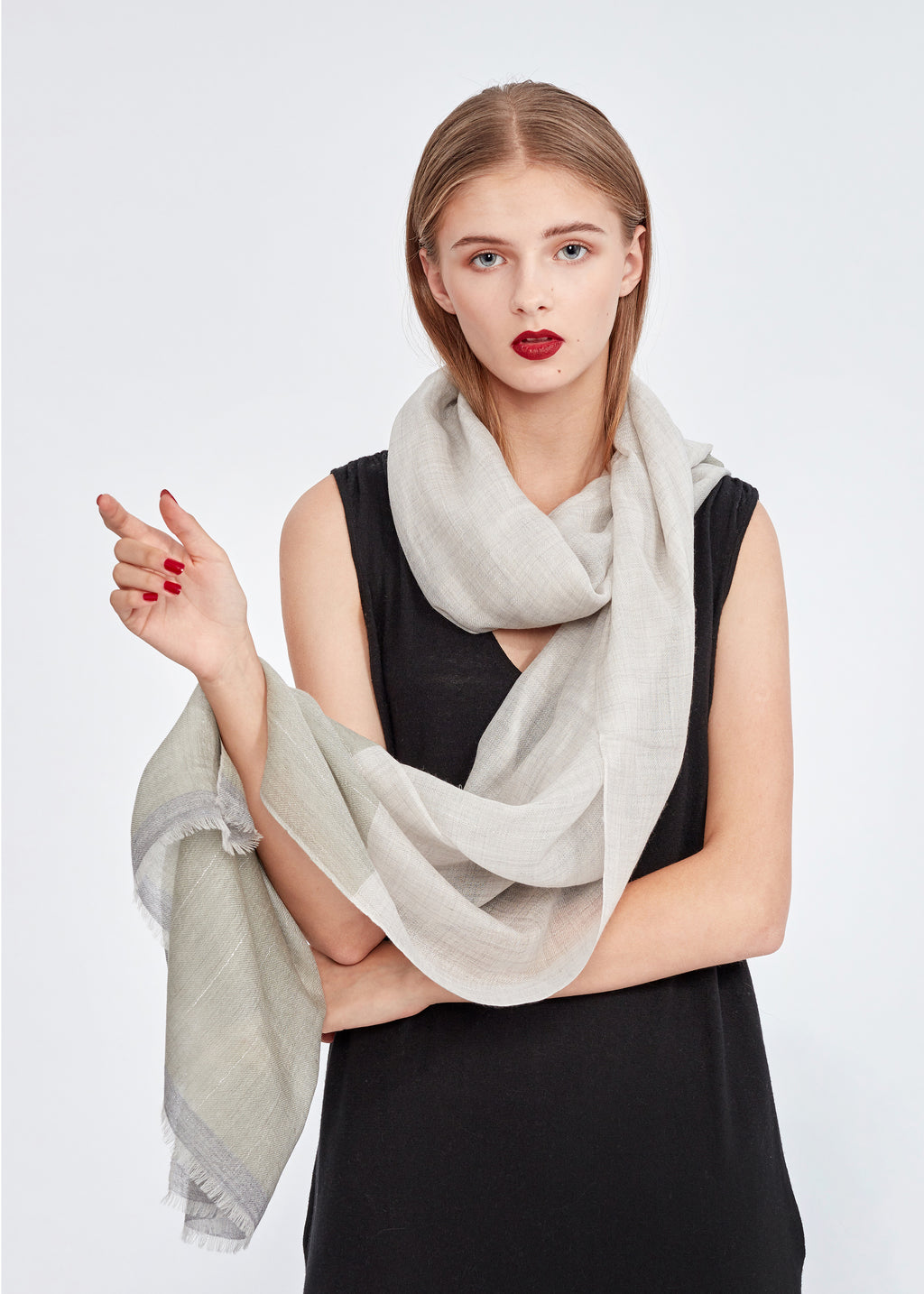 Cashmere Thin Scarf