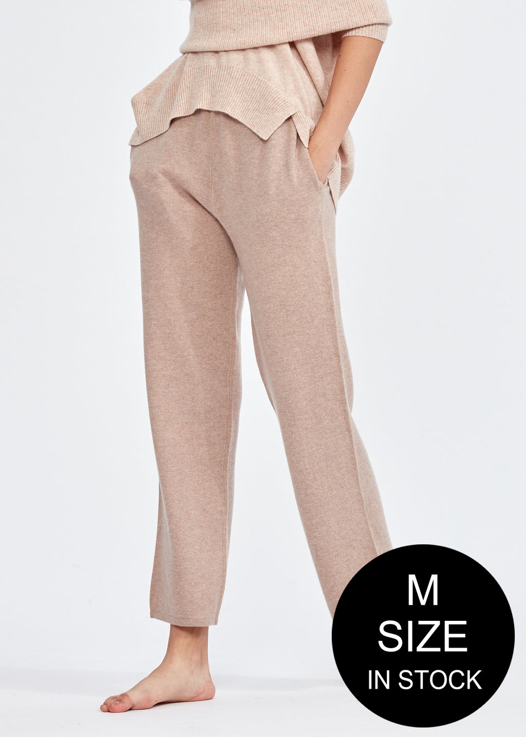 Cashmere Stretch Trousers