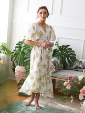 MILLE - Helena Dress in Yellow Rose
