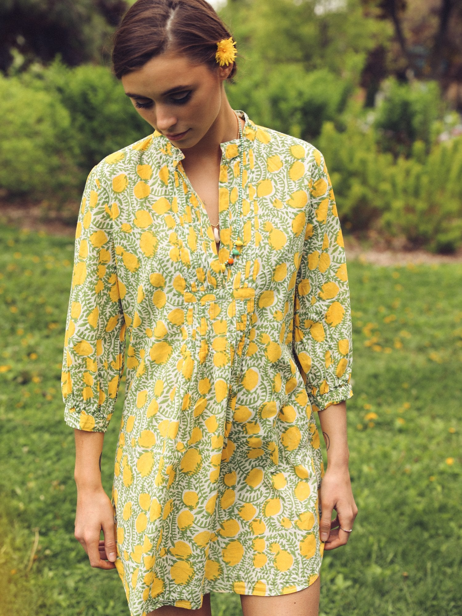 MILLE - Indio Tunic in Lemons