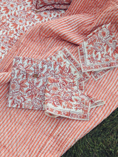 MILLE - Picnic Set in Peach Floral