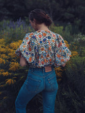 MILLE - Thalia Top in Wildflower