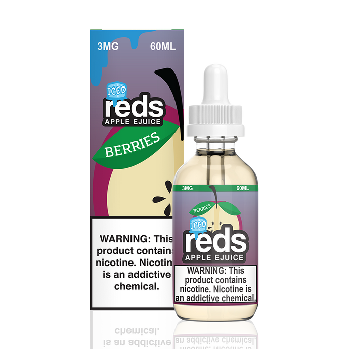 REDS BERRIES ICED 60ml