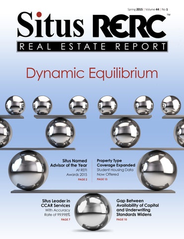 FREE SAMPLE - Situs RERC Real Estate Report