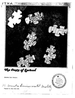 The Cost of Sprawl (1974)