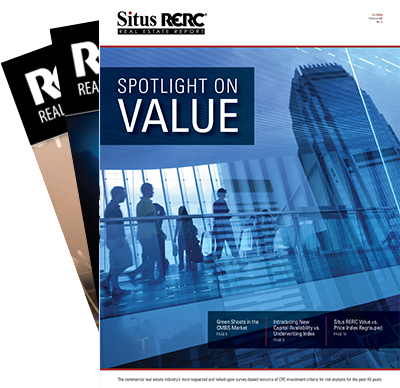 Situs RERC Real Estate Report - 2010 to current - Single Issues