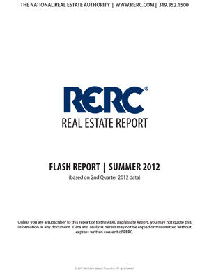Three-page Situs RERC Real Estate Flash Report - Single Issue