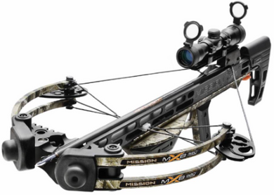 Mission - MXB 320 Crossbow (preassembled) Camo with Basic Scope Kit (mounting required)