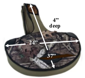 Allen - Soft Crossbow Case - Olive/Camo