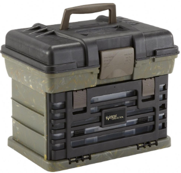 Plano - Shooters Case Black/Camo
