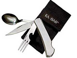 KA-BAR - Original HOBO Fork/Knife/Spoon Kit