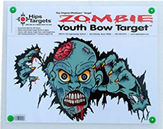 Hips - Zombie Youth Bow Target 21 x 24 x 2