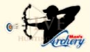 LVE Hunting Decals - Men's Archery Compound Bow Decal (3 1/2 x 5 3/4