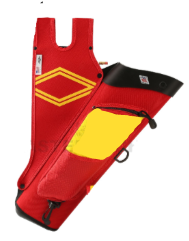 Neet Products - Quiver Red/Yellow RH