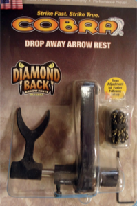 Cobra - Diamond Back Drop Away LH Rest Arrow Rest