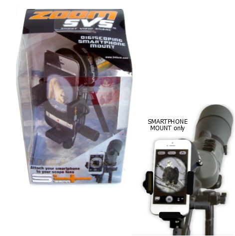 Field Logic - S4 Gear-Zoom SVS Digiscoping Smart Phone Mount (00327)