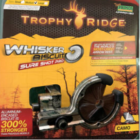 Trophy Ridge - Whisker Biscuit Camo Sure Shot Pro LH-Medium