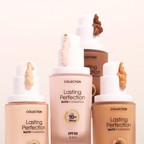 lasting perfecrtion foundation 20 shades available