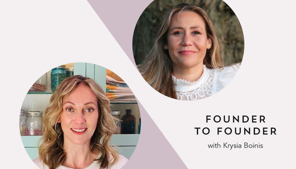 05/25/21 | Founder to Founder Night with Krysia Boinis