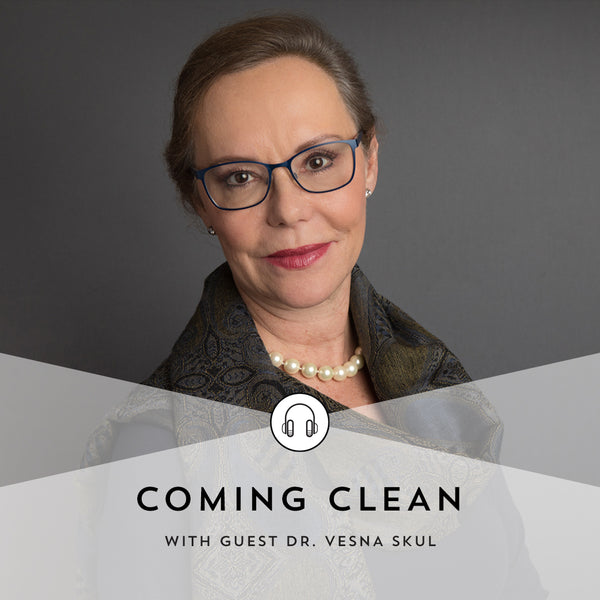 Indie Lee Coming Clean Podcast with Dr. Vesna Skul