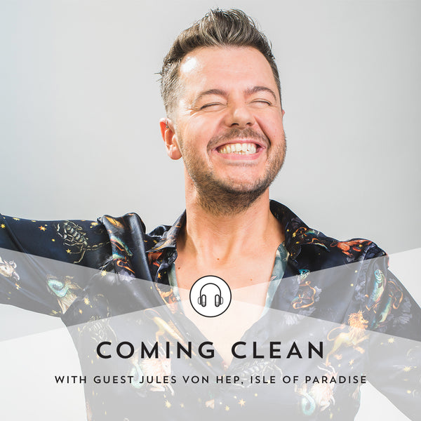 Indie Lee Coming Clean Podcast with Jules von Hep