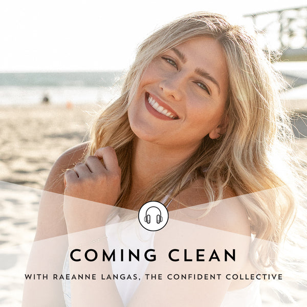 Indie Lee Coming Clean Podcast with Raeanne Langas