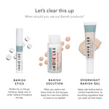 Indie Lee Clarity products. Clear up blemishes with clean ingredients. Perfect for day and nighttime treatment.