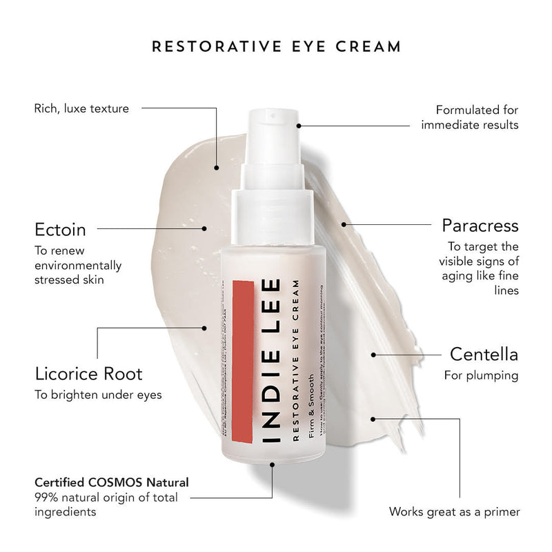Restorative Eye Cream Infographic